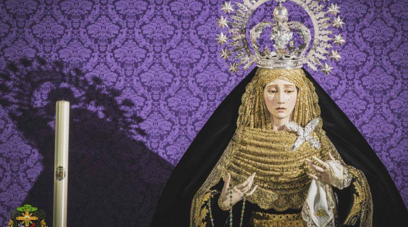 María Santísima de la Concepción Coronada en noviembre