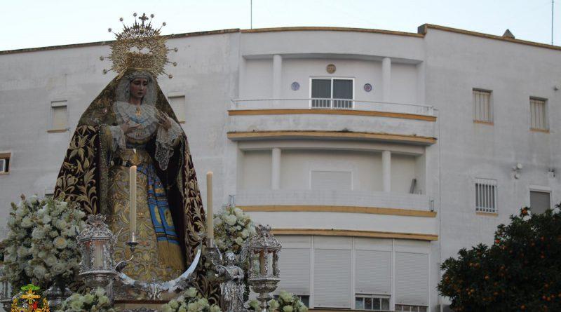 Rosario de la Aurora Conmemorativo del 50 aniversario de Coronación Parroquial de María Santísima de la Concepción Coronada