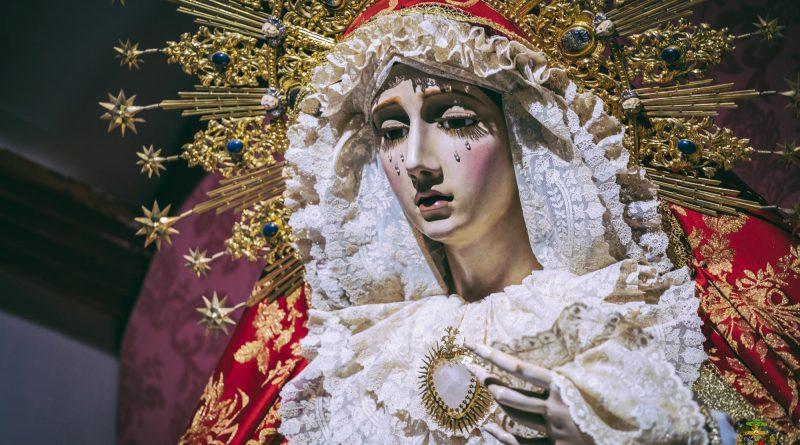 Mª. Stma. de la Concepción Coronada para la festividad de la Candelaria