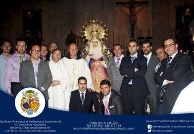 En Capuchinos durante el Triduo del Vía Lucis con Fray Ricardo de Córdoba