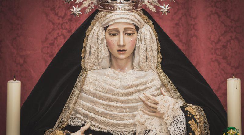 María Santísima de la Concepción Coronada para la conmemoración de los fieles difuntos