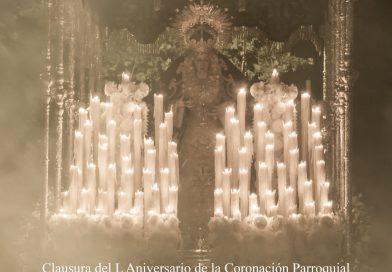 Cartel de la Salida Extraordinaria de regreso a su Barrio de María Santísima de la Concepción Coronada