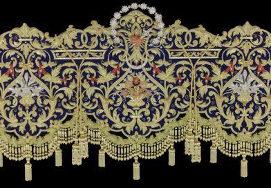 Presentada la Bambalina frontal del nuevo Palio de Mª. Stma. de la Concepción Coronada