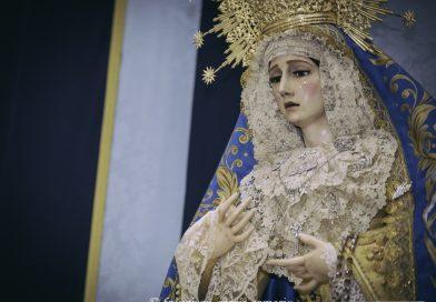 María Santísima de la Concepción Coronada vestida para el Adviento 2020