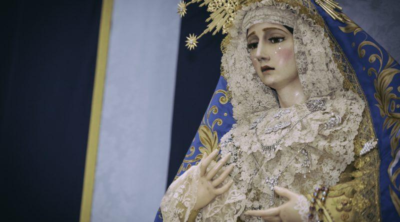María Santísima de la Concepción Coronada vestida para sus Días Grandes 2020